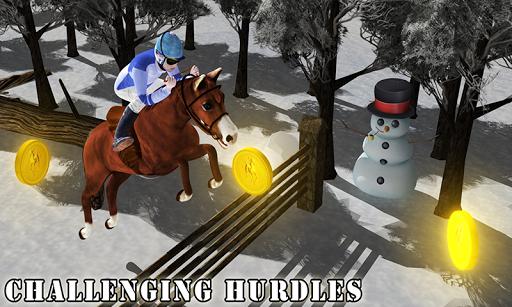Snow Horse Run Simulator 3D