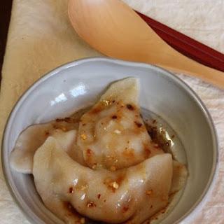 Sichuan Crescent Dumplings Recipe (Zhong Jiaozi)