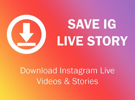Save IG Live Story