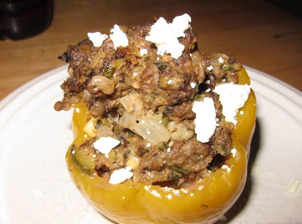 Bison Stuffed Bell Peppers Recipe