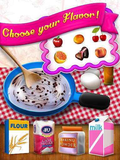 ゲーム子供の料理ケーキメーカー