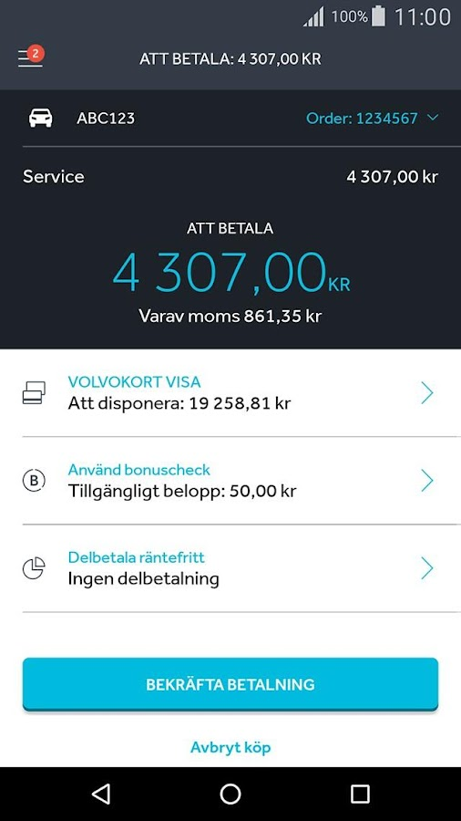 CarPay- screenshot