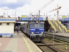 """Photo: EU07-306, TLK """"Sukiennice"""" Szczecin Główny - Kraków Płaszów {Szczecin Główny; 2015-05-29}"""