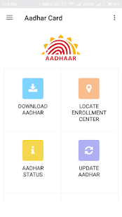 Aadhar Card screenshot