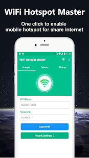 WiFi Hotspot Master - Powerful Mobile Hotspot Screenshot