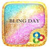 Bling Day GO Launcher Theme
