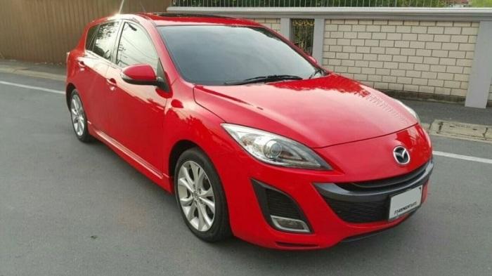 Mazda 3 โมเดลเชนจ์ใหม่ในปี 2011