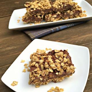 No-Bake Chocolate Peanut Butter Banana Bars