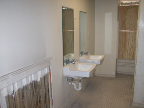 Photo: October 2003 - Month 2: 2nd Floor Dormitory Bathrooms. Lovely amenity!