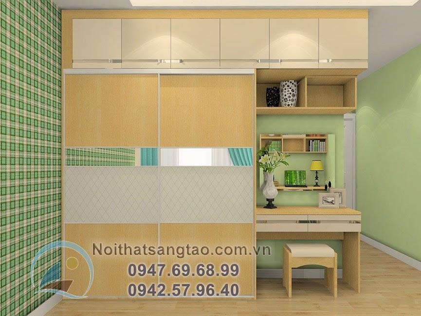 thiết kế phòng ngủ cho người mệnh Mộc hợp phong thủy