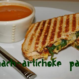 Spinach-Artichoke Panini.