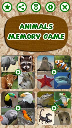 Animals Memory Game 1.0 screenshots 1