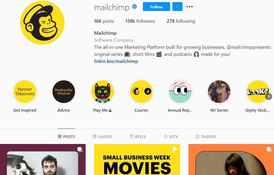 How MailChimp can use growth hacking to increase the number of new email subscribers.