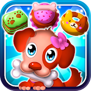 Hungry Pet Mania Match 3 - Cute Puppy Puzzle Game