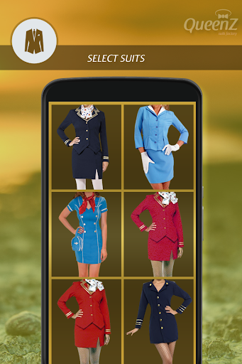 Air Hostess Photo Suit Editor