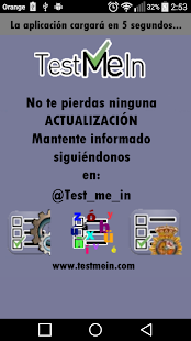 Policia Nacional Test me in...- screenshot thumbnail