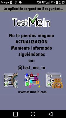 Policia Nacional Test me in... - screenshot