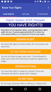 Know Your Rights- screenshot thumbnail