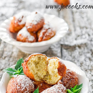 Banana Fritters No Egg Recipes.