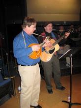 Photo: Musicians, Steve Blons & James Plattes (mandolin)