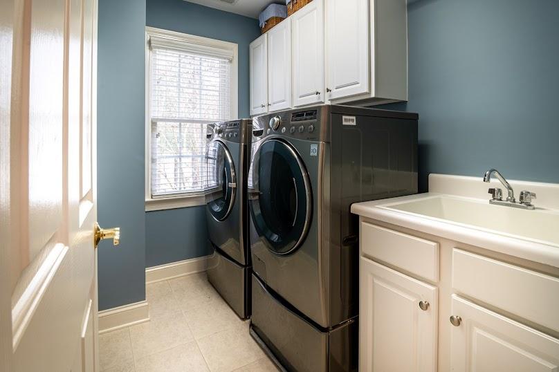 Przed skompletowaniem wyposażenia do pralni lub suszarni, warto wykończyć wszystkie znajdujące się tam powierzchnie płaskie