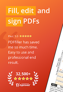 PDFfiller: Edit, Sign and Fill PDF 8.8.1705