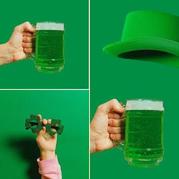 St. Patrick's Day Plan - St. Patrick's Day Template