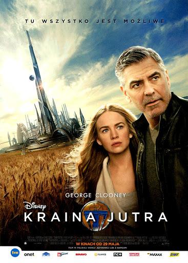 Przód ulotki filmu 'Kraina Jutra'