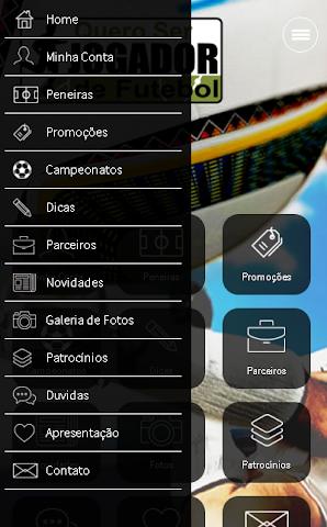 android Quero ser Jogador de Futebol Screenshot 2