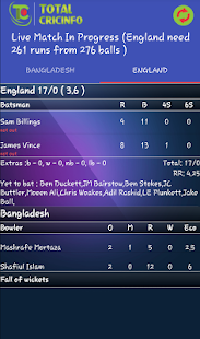 Live Cricket Scores & Updates - Total Cricinfo- screenshot thumbnail