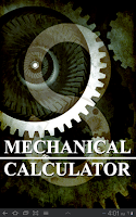 Screenshot of Mechanical Calculator