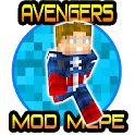 Avengers Superheroes Mod for Minecraft PE icon