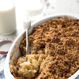 Apple Crumble Brown Sugar Oats Recipes