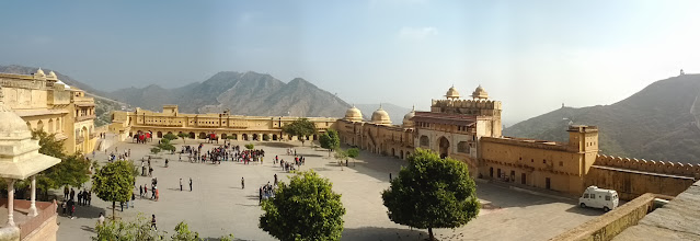 Photo: Amber fort is a pretty spectacular place