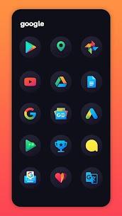 Hera Dark Icon Pack – Circle Shaped Dark Icons (MOD, Paid) v2.5 3