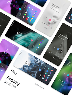 Frosty for KLWP Paid Apk 5