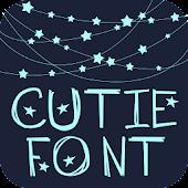 FreeFont - Cutie
