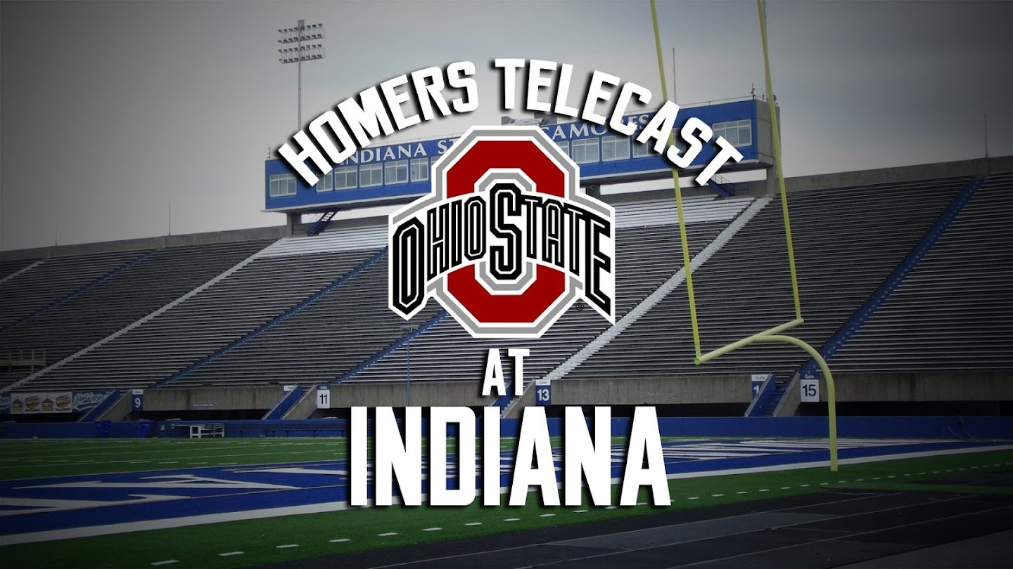 Watch Homers Telecast: Ohio State at Indiana live