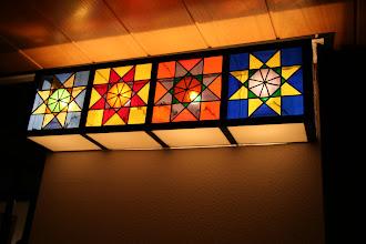 Photo: Wand lamp-paneel - door Ids v Gunst