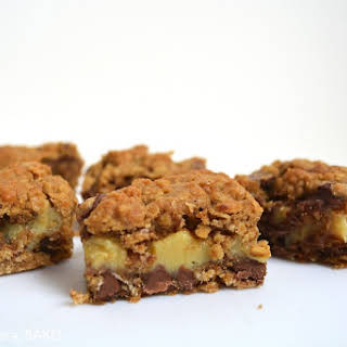 Caramel Spiced Oat Bars.