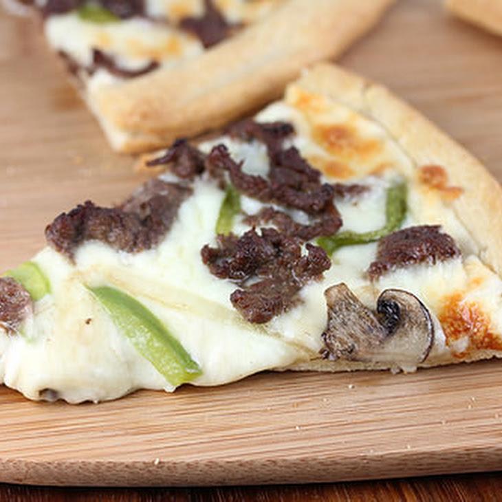 Philly Cheesesteak Pizza Recipe