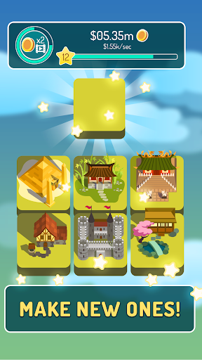 Merge of Ages - Click and Idle 2048 Town Tycoon 1.0 screenshots 2