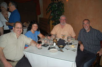Photo: Thursday Evening 55 person dinner get-together at Lombardo's