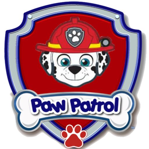 Paw Memory Game Patrol Find Marshall