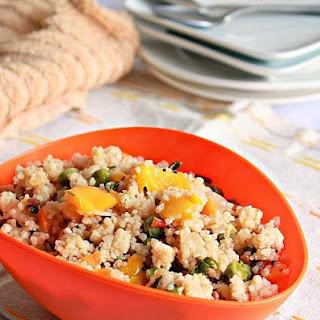 Saamai ( Little Millet ) And Vegetable Upma.