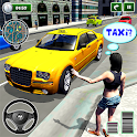 New York Taxi Driver 3D - New Taxi Games Free icon