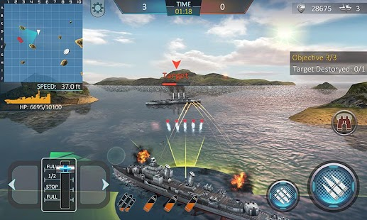 Warship Attack 3D- screenshot thumbnail