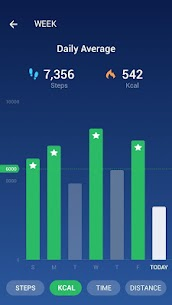 Step Counter – Pedometer Free & Calorie Counter MOD APK 1.1.7 (Unlocked) 2