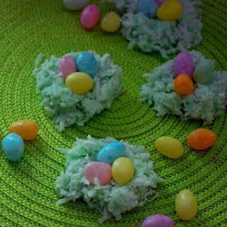 No-Bake Birds-Nest Cookies.