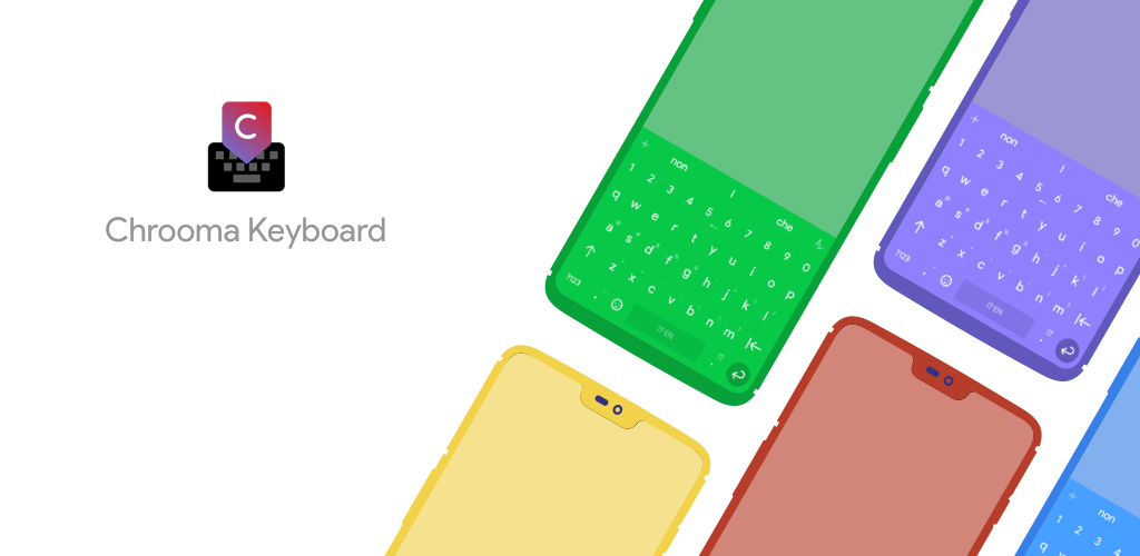 Download Chrooma Keyboard - RGB & Chameleon Theme APK latest